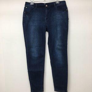 Kensie Jeans Effortless Ankle 12 High Rise